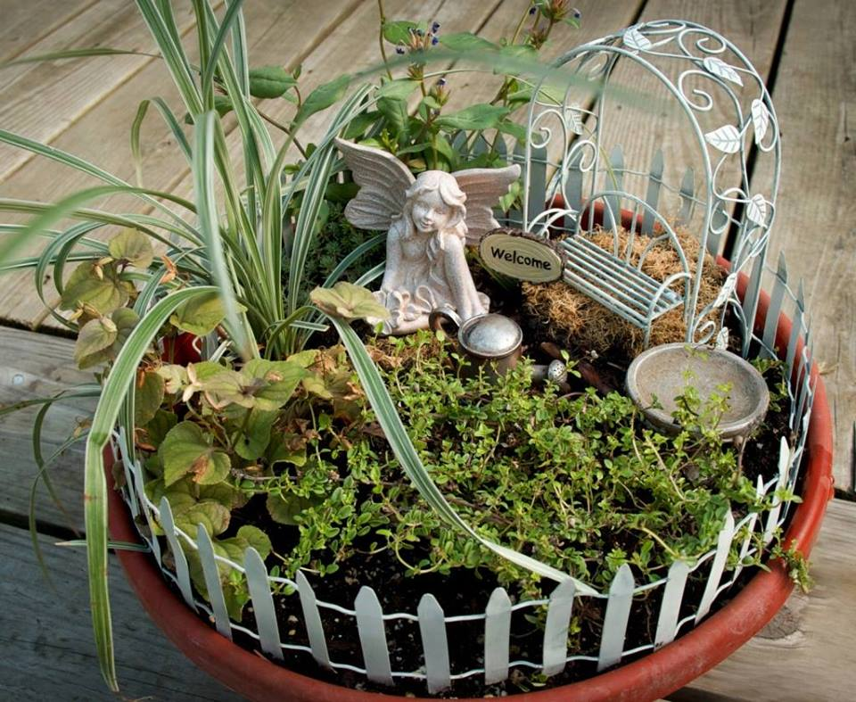 Upcoming Events BUILD YOUR OWN FAIRYGNOME GARDEN CLASS February